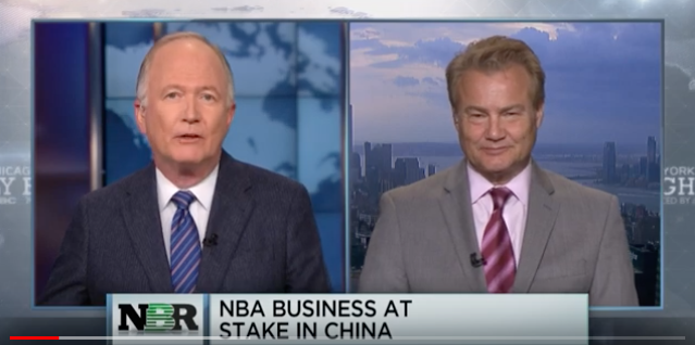 Nightly Business Report – NBA Business at Stake in China